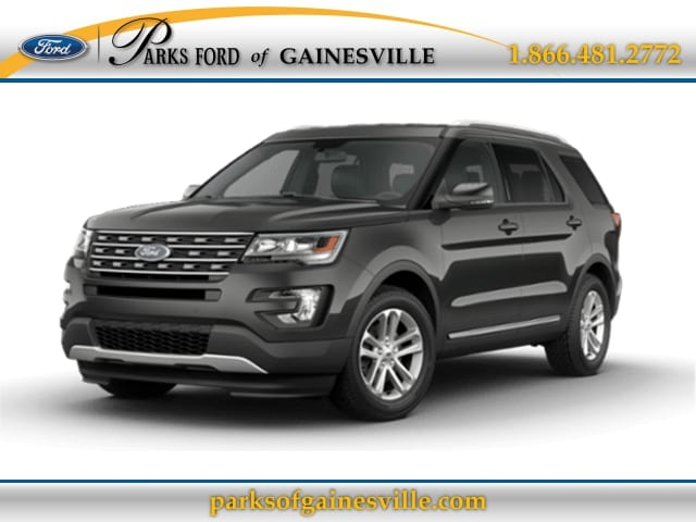 2016 Black Ford Explorer XLT