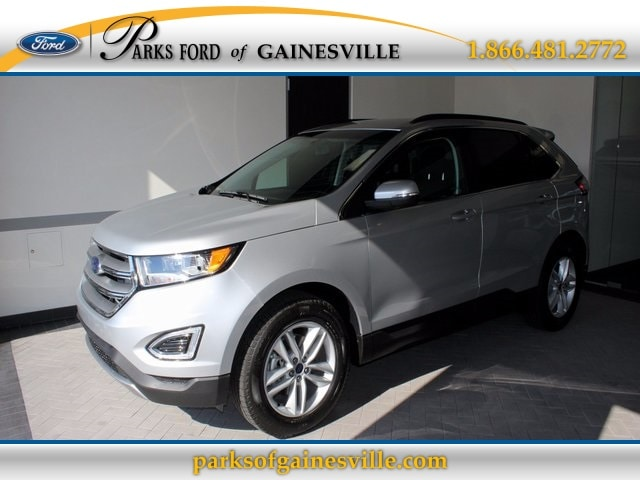 2016 Silver Ford Edge SEL