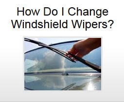 How Do I Change Windshield Wipers