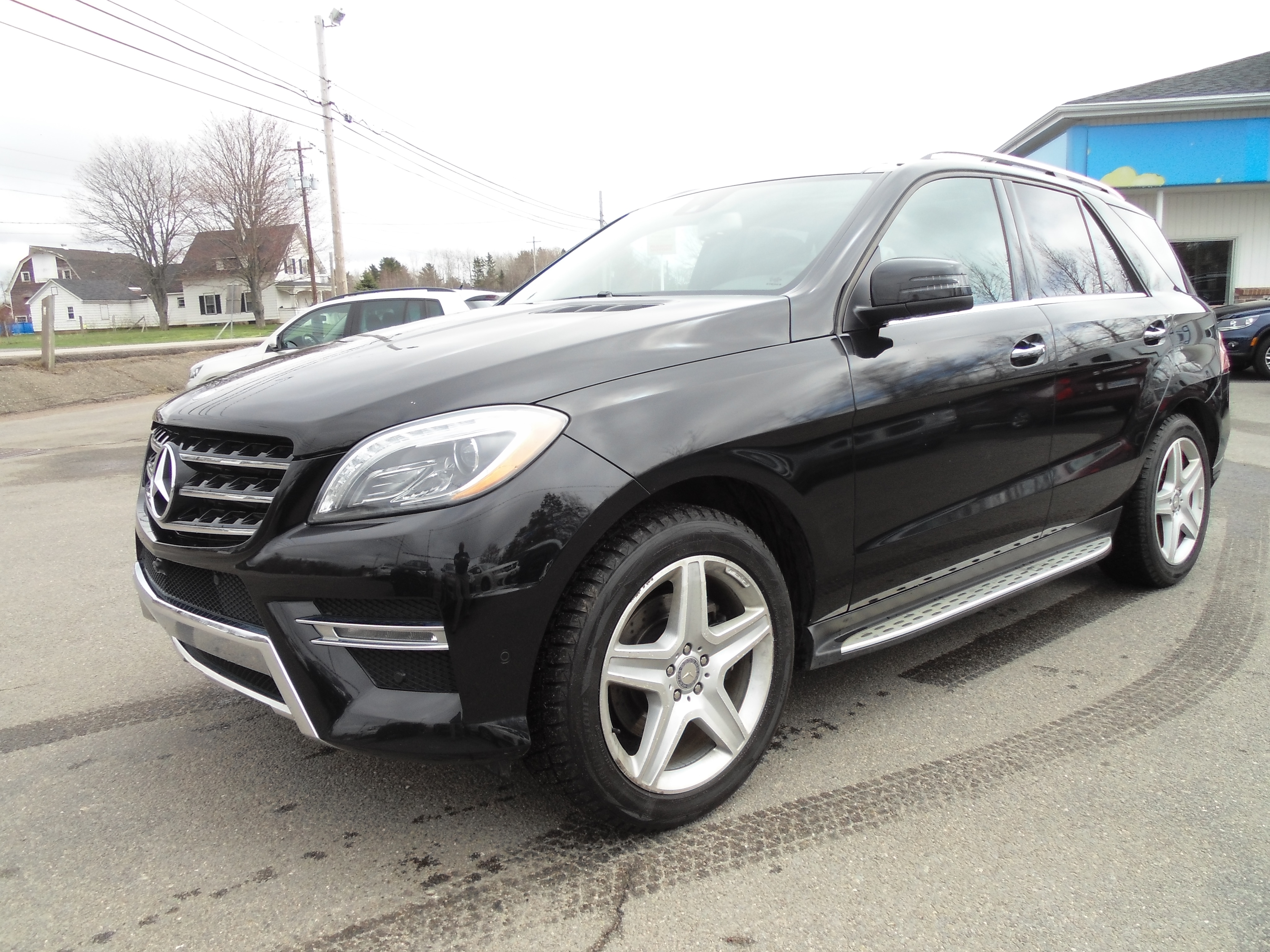 Used 2014 mercedes benz m class for sale middleton ns for 2014 mercedes benz m class ml350 suv