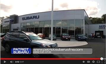 patriot subaru of north attleboro new subaru dealership in north attleboro ma 02760. Black Bedroom Furniture Sets. Home Design Ideas