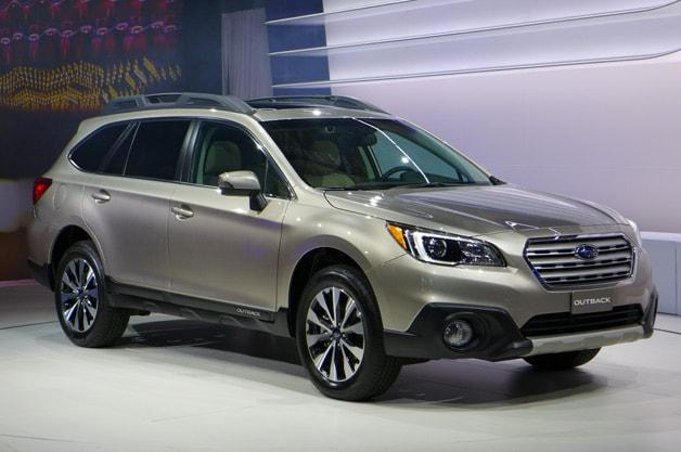 Image Gallery 2015 Subaru Vehicles