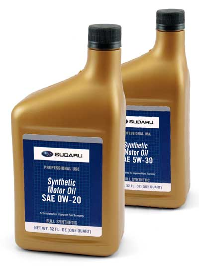 Synthetic oil for your subaru patriot subaru of north for What is ow 20 motor oil