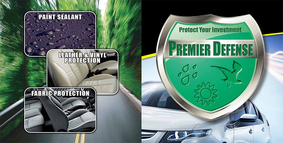 Premier defense protection for paint leather vinyl for Premier paint protection