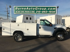 2009 Ford Super Duty F-450 DRW 4x4 V-10 Open Utility Truck