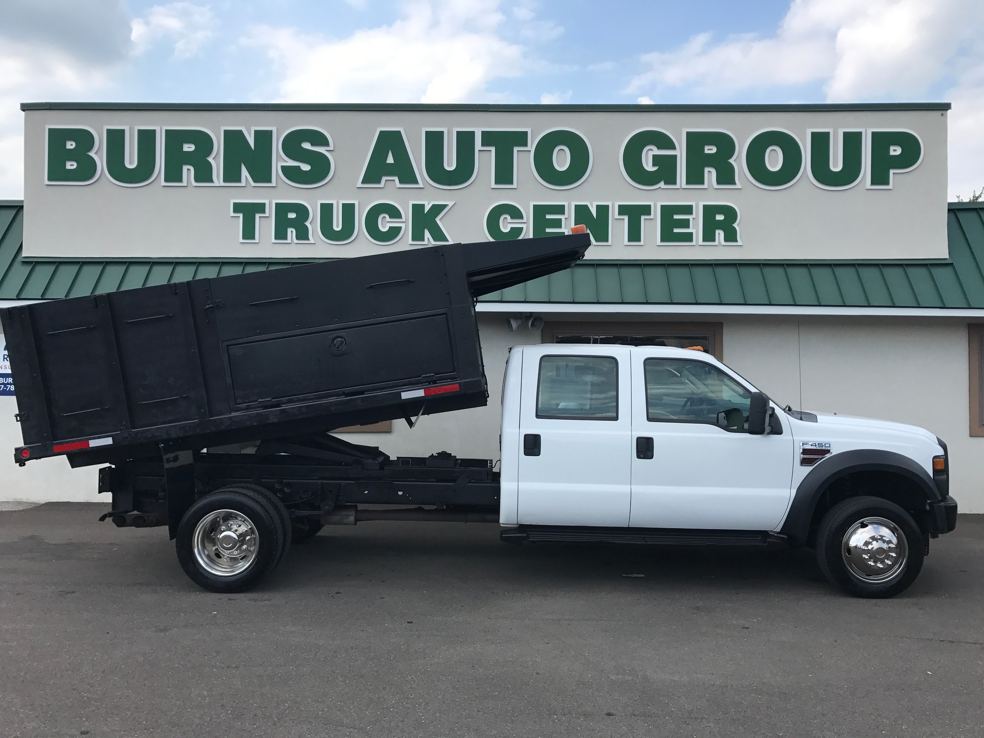 2009 Ford F-450 DRW Landscape Dump