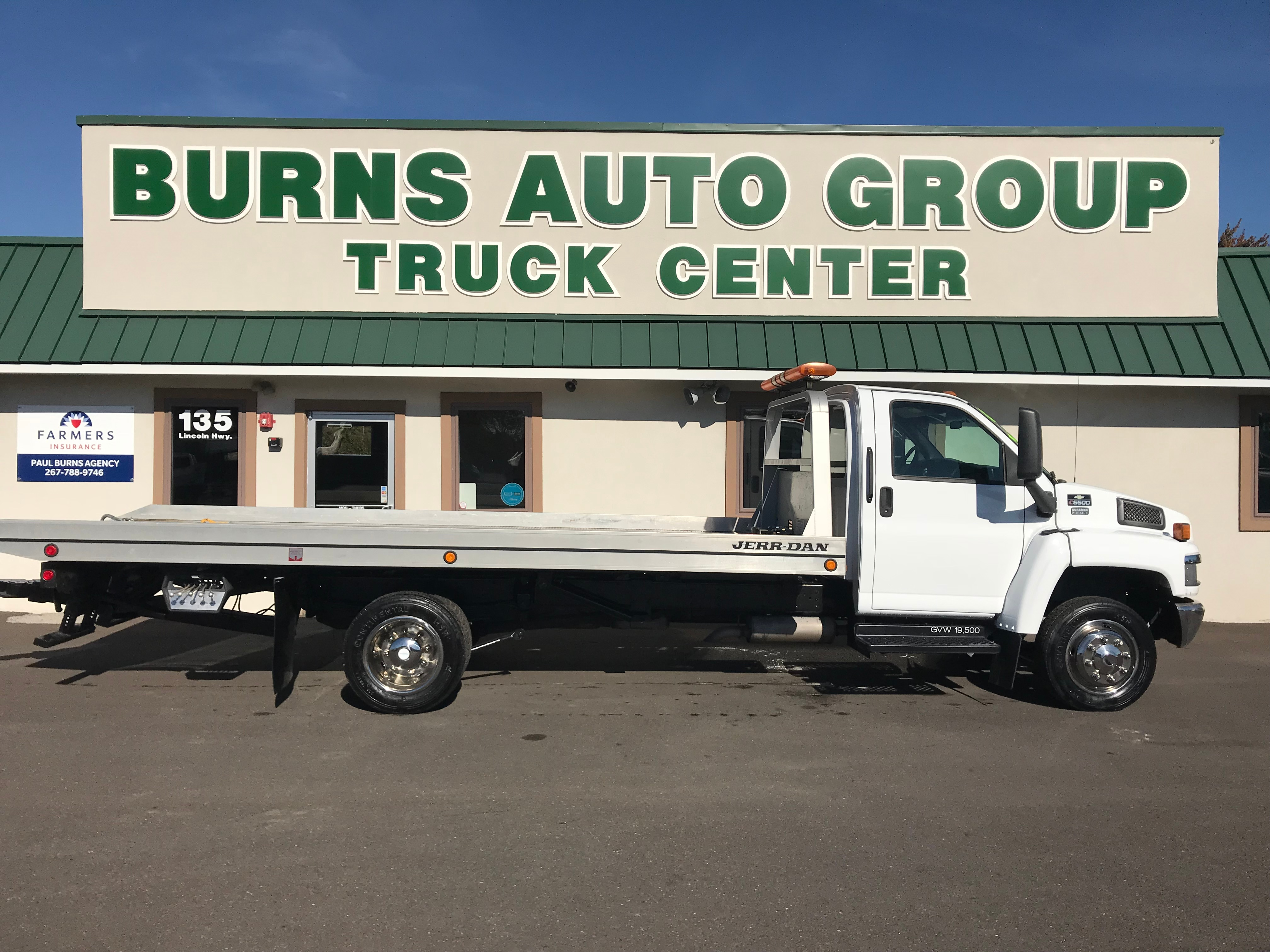 2004 Chevrolet C5500 Rollback Tow Truck