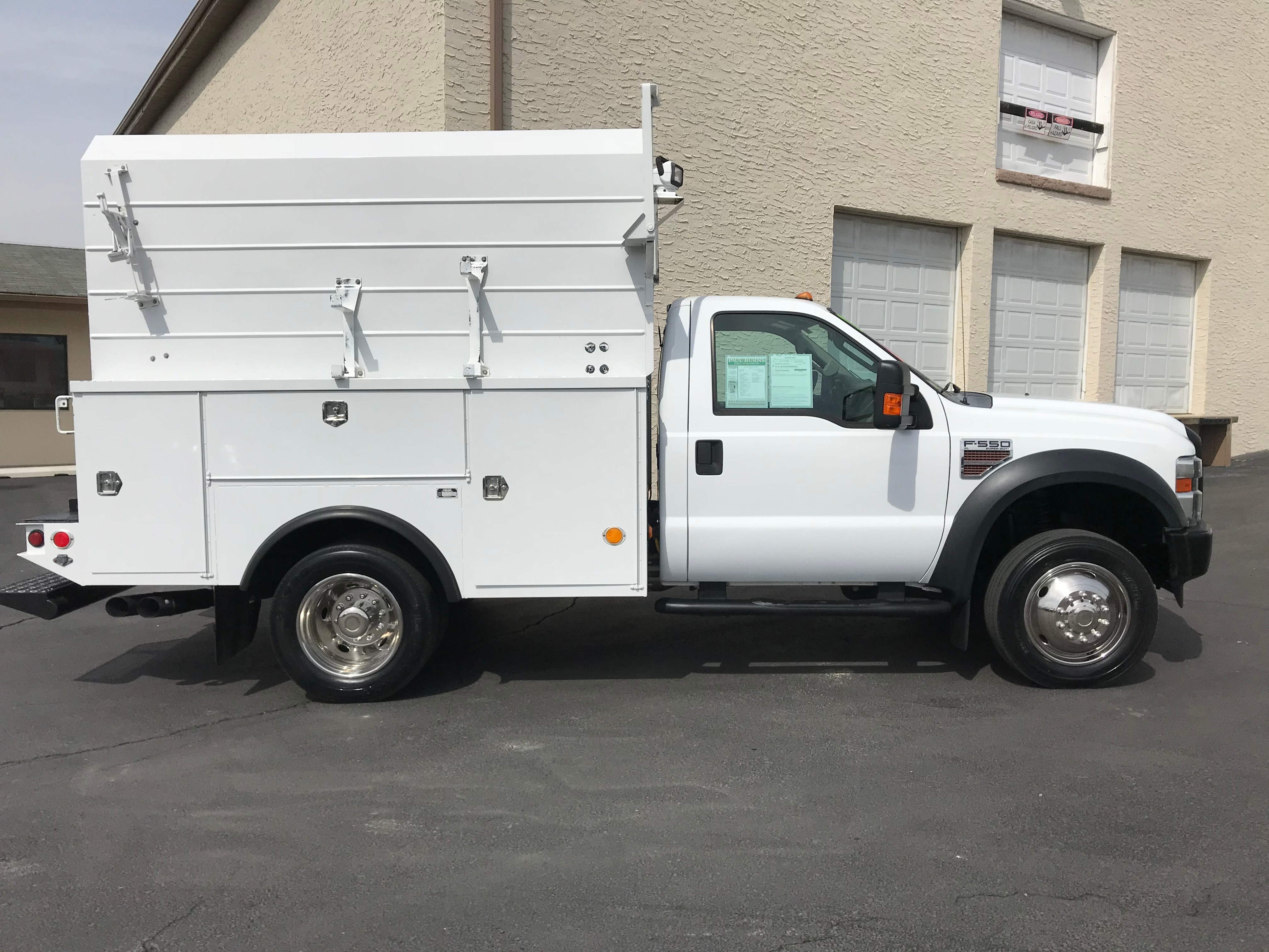 2009 Ford F-550 XL Service - Utility Truck