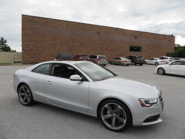 2014 Audi A5 2.0T Premium Plus Coupe Black Optic & Sport Pkgs/MMI Navigation Coupe
