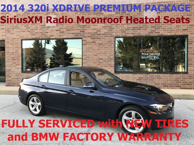 2014 BMW 320i xDrive Sedan Premium Pkg/Heated Seats/MSRP $40,425 Sedan