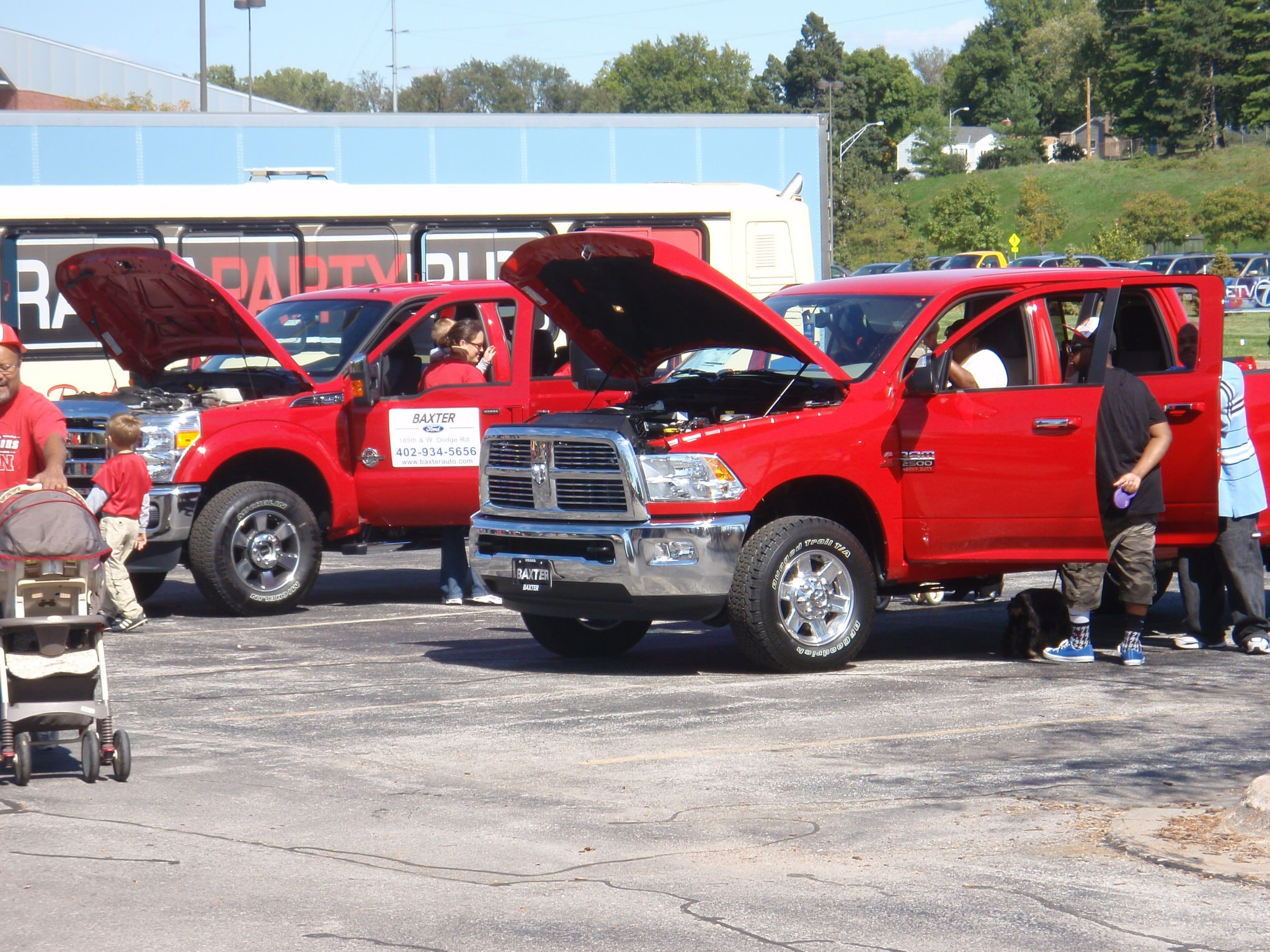 baxter auto showcases trucks at 39 touch a truck 2011 39 presented by the. Cars Review. Best American Auto & Cars Review
