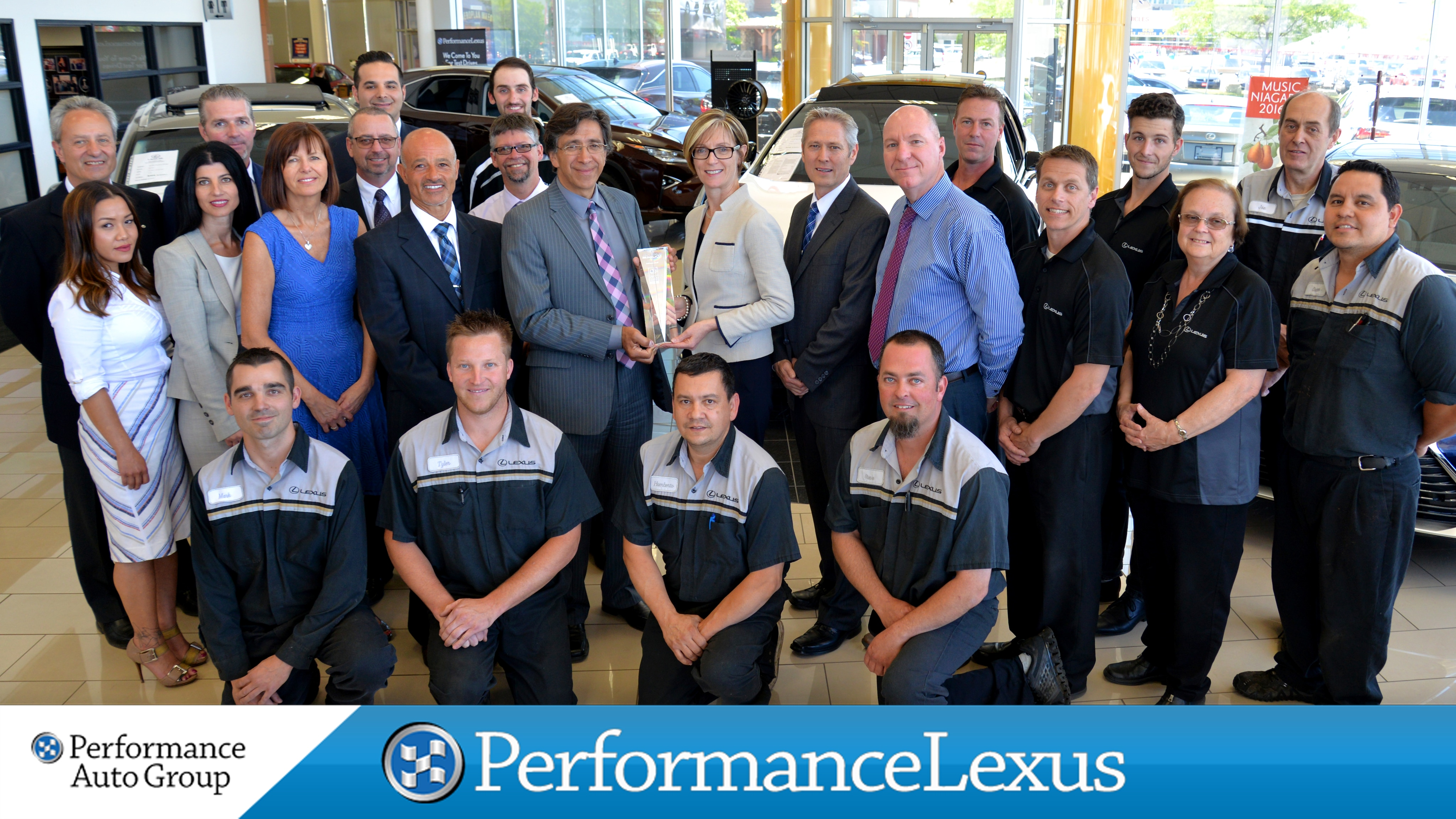 Performance Lexus Staff