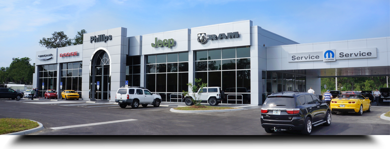 About Phillips Chrysler Jeep Dodge In Ocala Florida