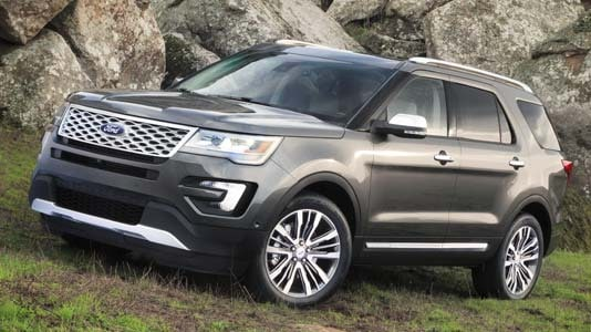 2017 Ford Explorer at Phil Long Ford in Colorado Springs