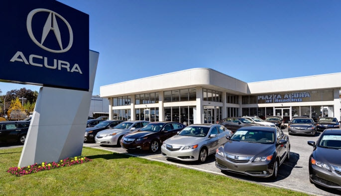 Piazza Acura Of Reading Acura Dealership Reading PA Near Lancaster - Acura dealers in pa