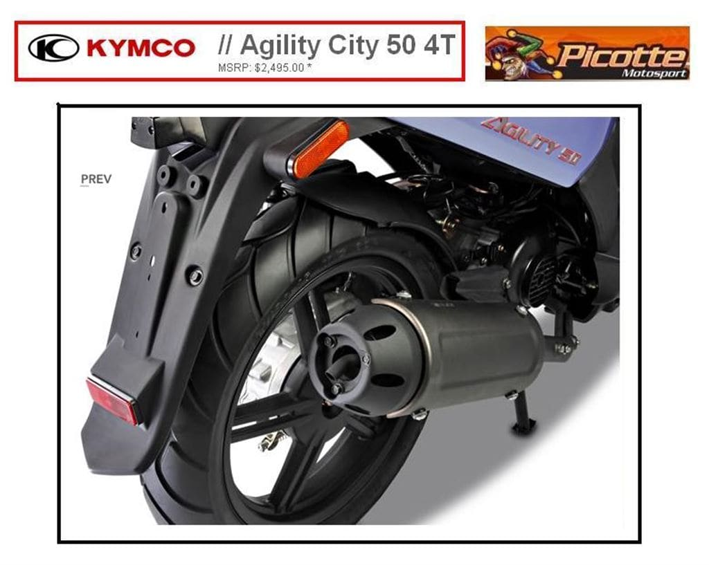 new 2014 kymco agility 50 for sale granby qc. Black Bedroom Furniture Sets. Home Design Ideas