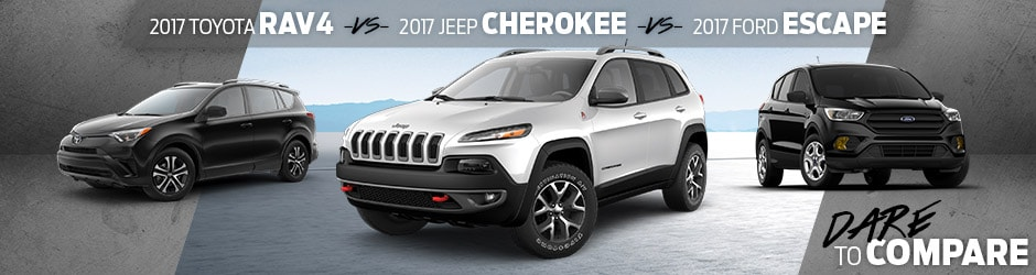 Dare to Compare- Jeep Cherokee