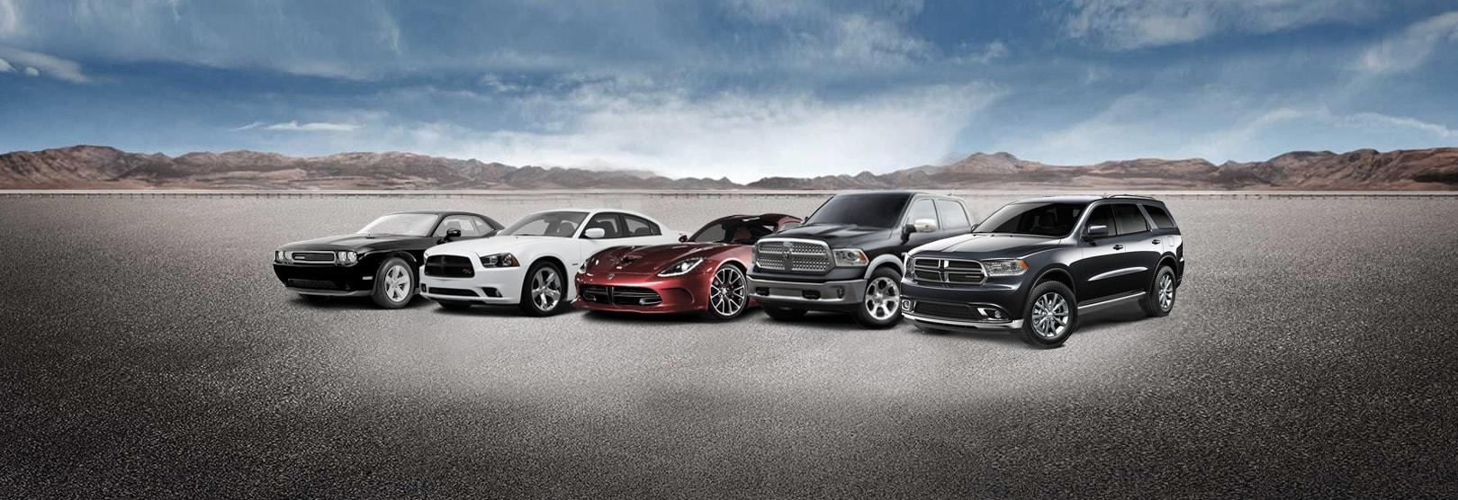 2017 Dodge Lineup