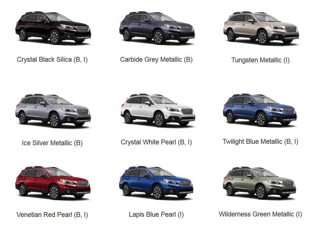 2016 Subaru Paint Colors Autos Post