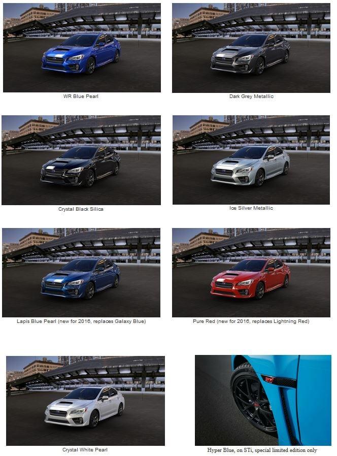 2016 Subaru WRX from $27,390 | Boston Subaru Dealer ...