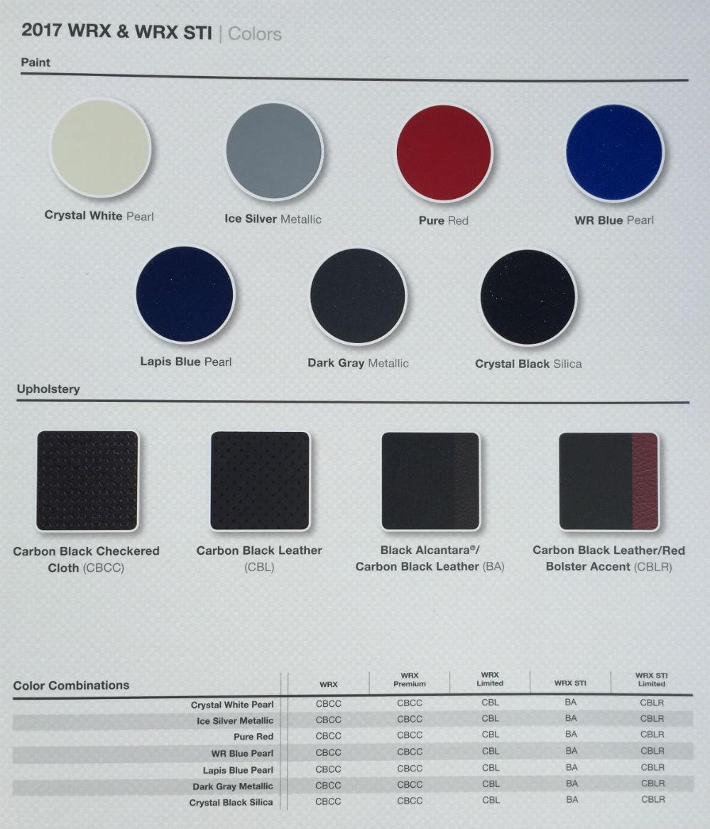 2017 subaru impreza colors 2017 2018 best cars reviews. Black Bedroom Furniture Sets. Home Design Ideas