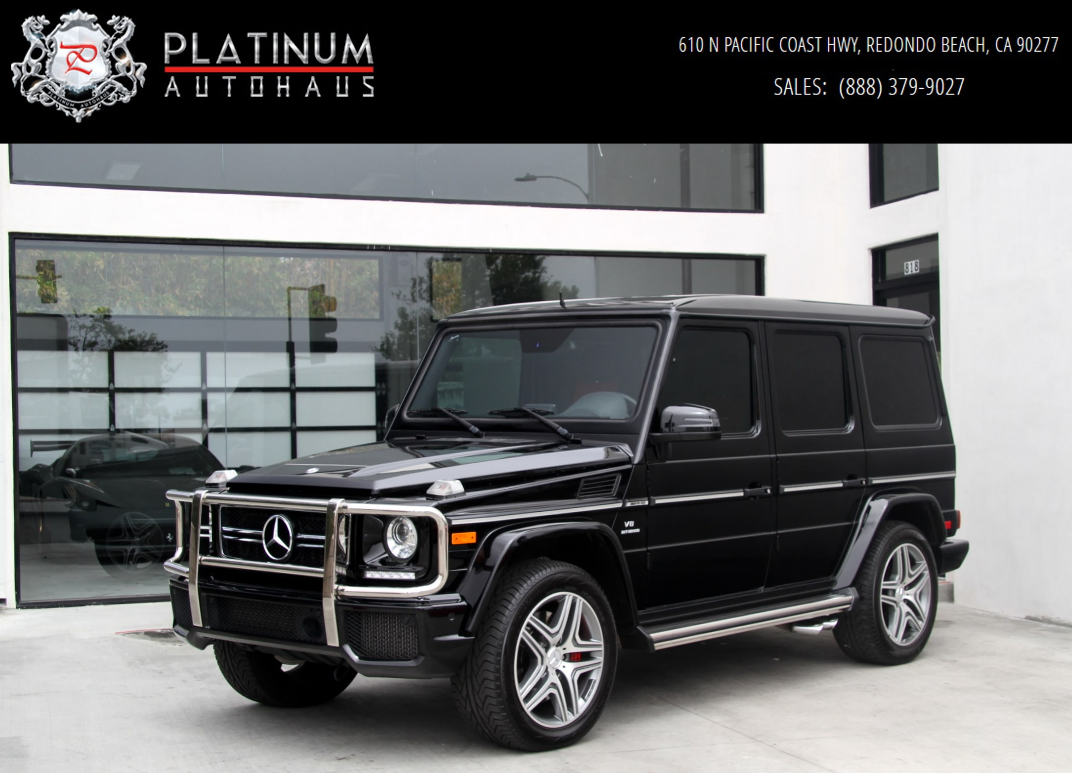 2015 Mercedes-Benz G63 AMG 4MATIC **Diamond Stitched Seats ** SUV
