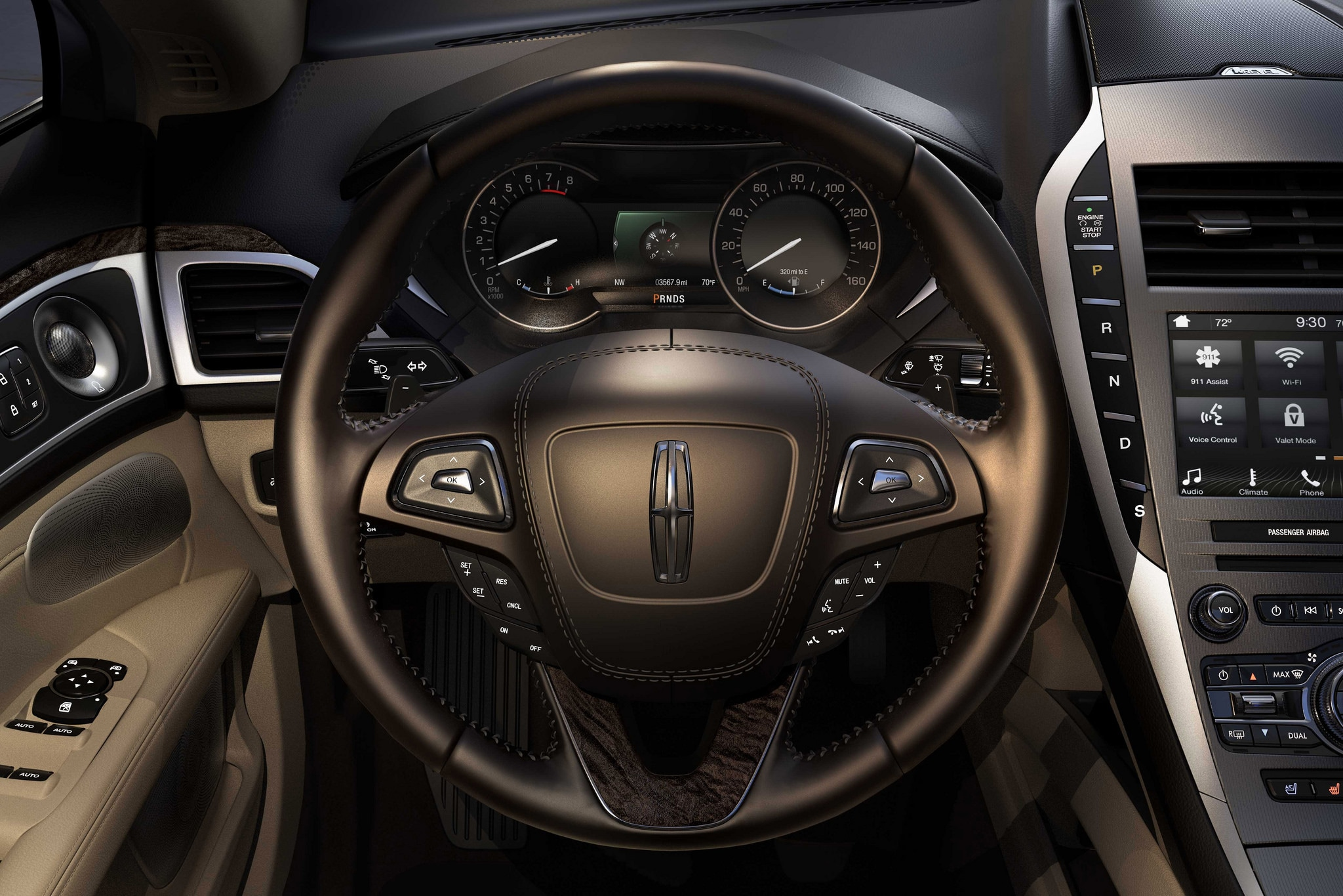 2017 Lincoln MKZ Dashboard Indicator Lights