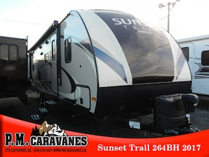 2017 Sunset Trail by Crossroads SS264BH Super Lite