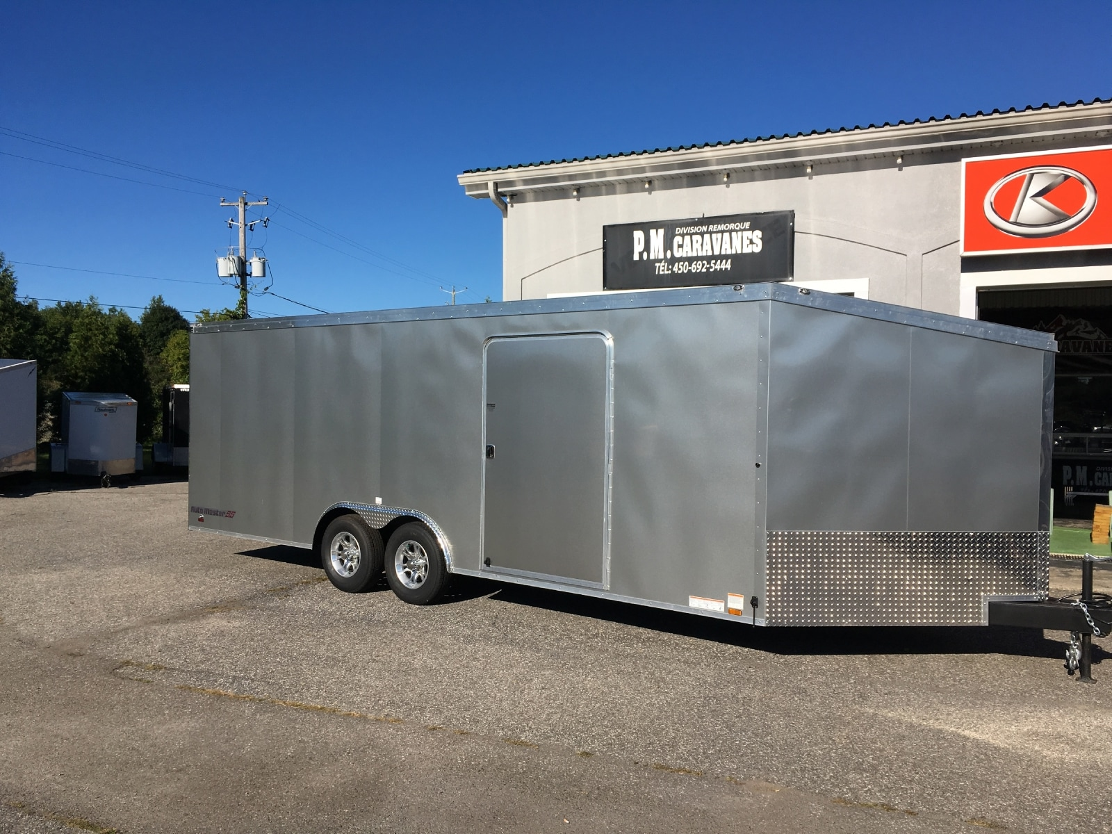 2017 CONTINENTAL CARGO AM8.522TA3 Car hauler