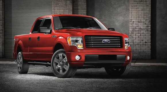 2014 Ford F-150 FX4 Exterior Front End