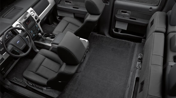 2014 Ford F-150 FX4 Interior Seating