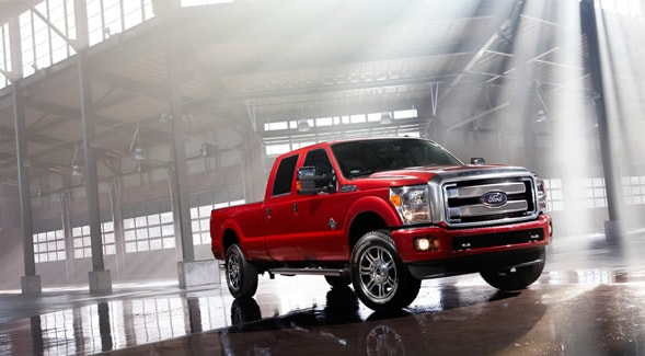 2014 Ford F-250 Exterior Front End