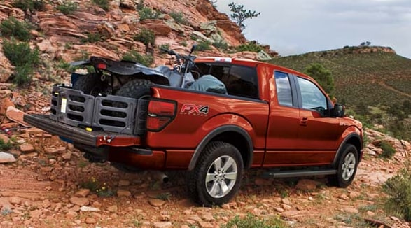 2014 Ford F-150 FX4 Exterior Rear End