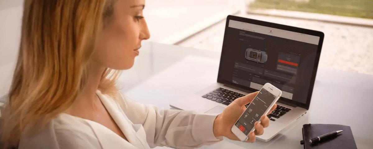 Porsche Connect App: Last Mile Navigation