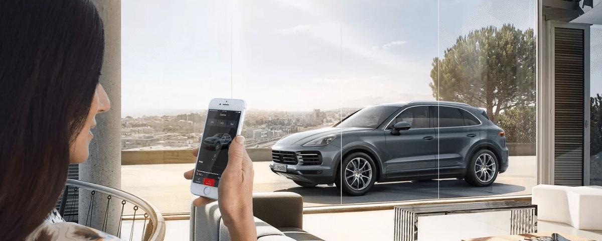 Porsche Connect Car Control
