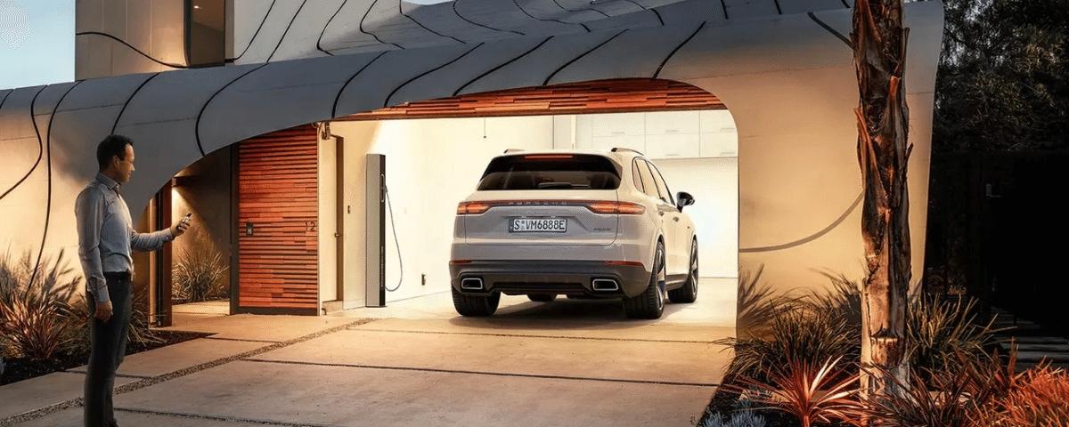 Porsche Climate and E-Control