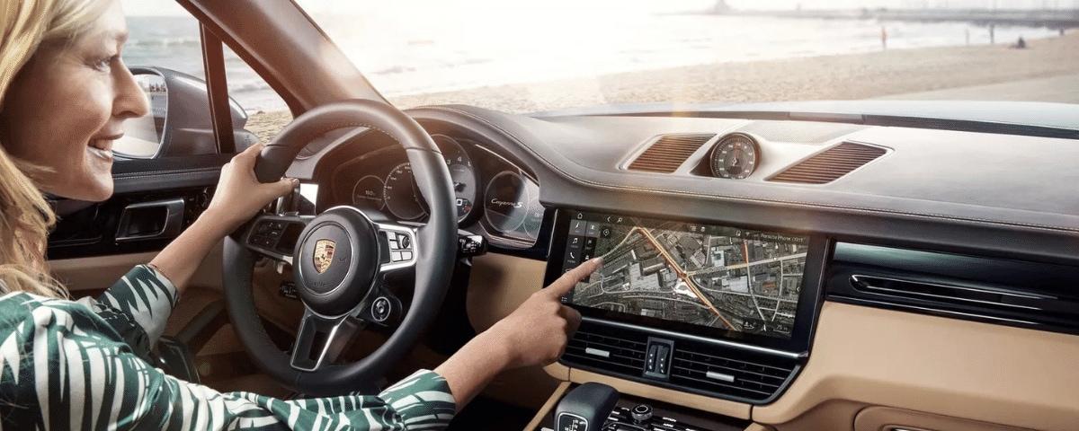 Porsche Connect Navigation Plus