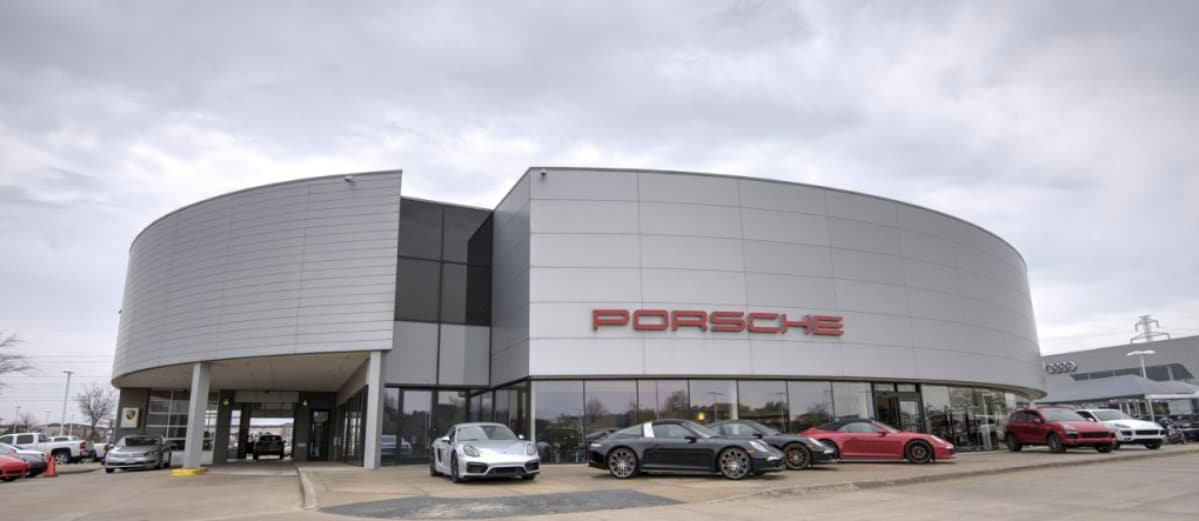 Porsche Plano Dealership