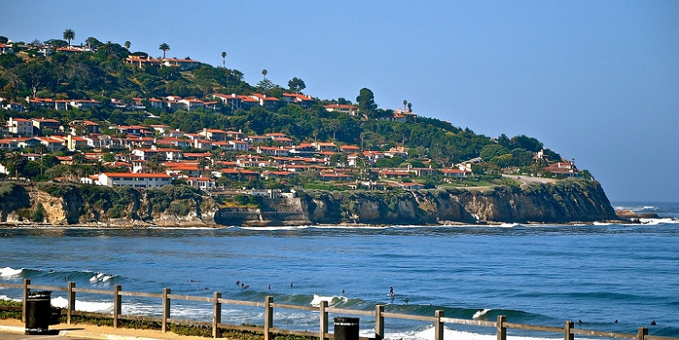 Scenic view of Palos Verdes Estates, CA