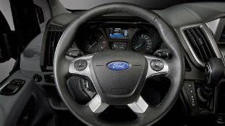 2017 Ford Transit Connect interior