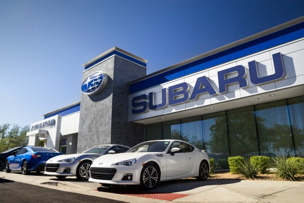New used subaru dealership serving chandler az for Department of motor vehicles chandler az
