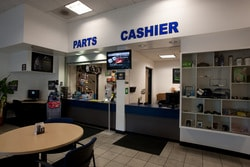 AutoNation Volvo Cars South Bay Parts Center Interior
