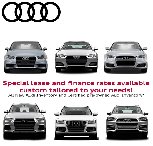Audi Auto Finance Specials In Lakewood