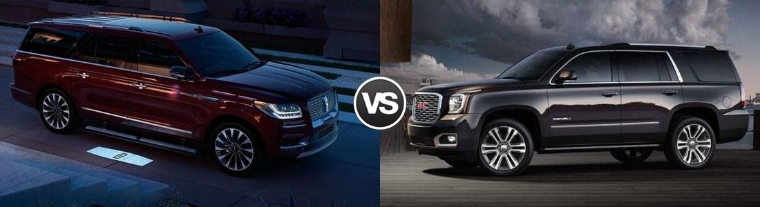 2018 Lincoln Navigator vs GMC Yukon Denali