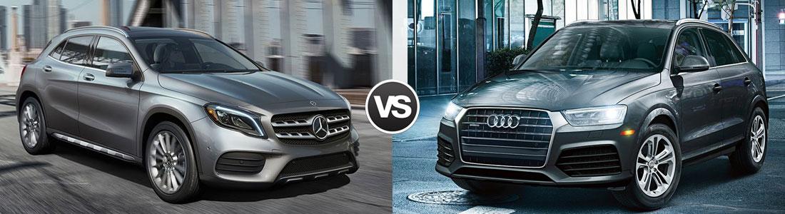 2018 Mercedes-Benz GLA 250 vs 2018 Audi Q3