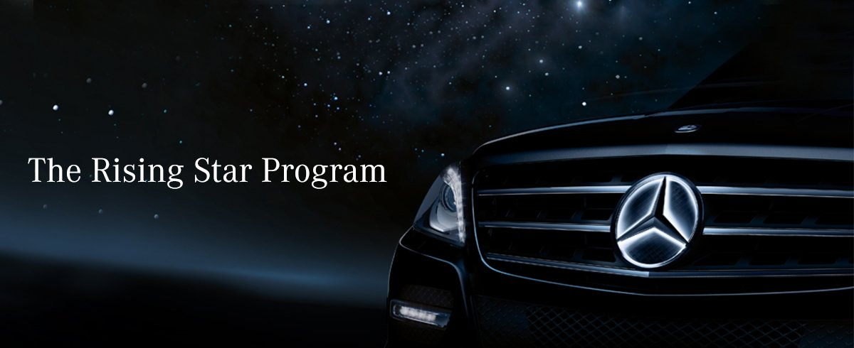 Rising star program new mercedes benz dealer in paramus nj for Mercedes benz college graduate program