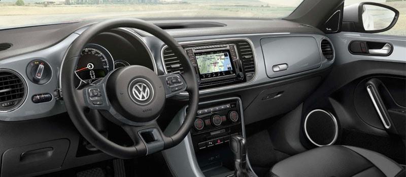 2017 VW Beetle Convertible Interior
