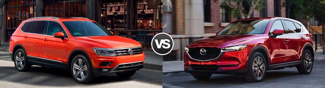 2018 Volkswagen Tiguan vs 2017 Mazda CX-5