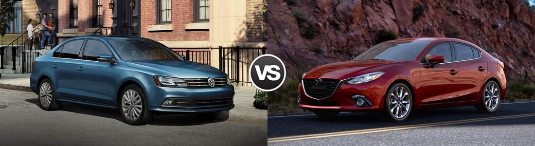 2016 Volkswagen Jetta vs Mazda 3
