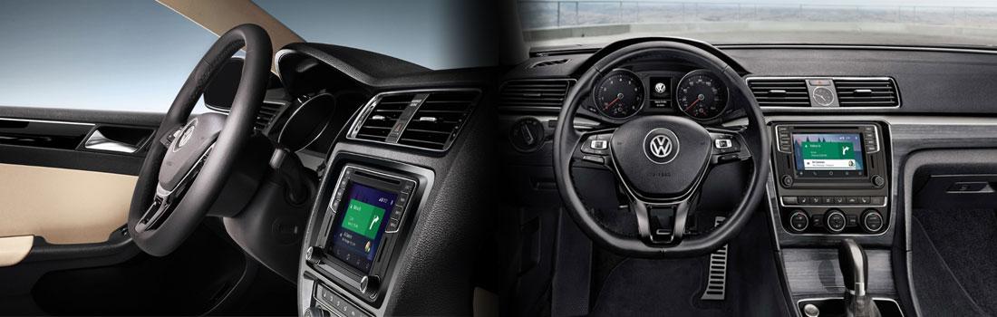 2017 VW Jetta and Passat Interior
